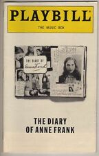 "Natalie Portman  ""The Diary of Anne Frank""  Playbill  1998  Linda Lavin"