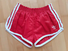 Adidas Shiny Nylon Sprinter Shorts West Germany Glanz Size Medium D5