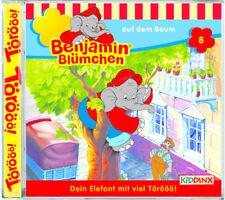Benjamin Blümchen - Folge 8 - auf dem Baum - Hörspiel - CD - *NEU*
