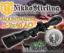 Nikko Stirling - Rimfire Rifle Scope - MountMaster - 3-9x40mm AO