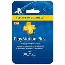 Sony 3 Meses Tarjeta PlayStation Plus para Sony PS4 - Pgk02-a0008717