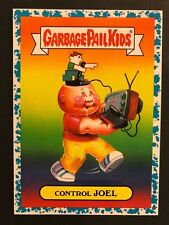 2018 GPK Garbage Pail Kids We Hate the 80s #2b Control Joel BLUE SPIT 82/99
