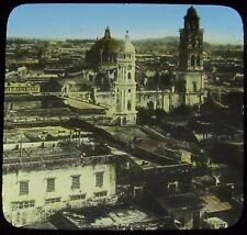 Glass Magic Lantern Slide VIEW OF VERACRUZ CITY NO2 C1910 PHOTO MEXICO