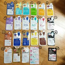MEDIHEAL Essential and Ampoule and protein 5pcs Masks sheet pack korea cosmetics