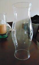 "16"" Colonial Williamsburg Glass Hurricane Type Candle Holder Chimney Shade Globe"