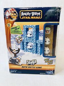 ANGRY BIRDS Star Wars Jenga Hoth Hasbro Battle Game 2012
