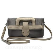 Womens Ladies Purse Wedding Evening Fashion Handbags Cross Shoulder Bag Grey