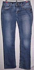Silver Jeans Women's Julia Size 28/32 Low Rise Straight Leg Jeans