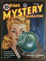 Dime Mystery Magazine #4 1944 Inspiration for Chamber of Chills #19 1953 ?