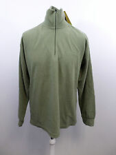F.Lli Campagnolo Unisex Fleece Top Khaki Green Uk XL Box3421 A