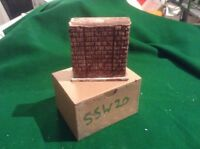 rough stone style bridge support pier  -OO Scale HO Scale 75mm Tall