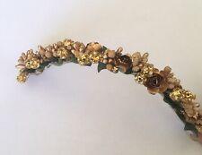 Hair Gajra/ Hair Garland/ Hair Flowers Gold Artificial