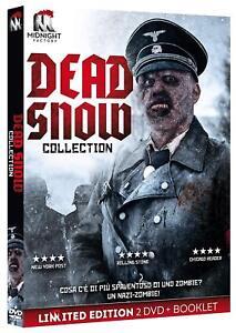 Dvd Dead Snow Collection (2 Dvd+Booklet) Limited Edition, Edizione Limitata .NEW