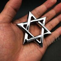 Judaism Jewish Car Window Vinyl Decal Sticker 08052 Star of David Peace Dove