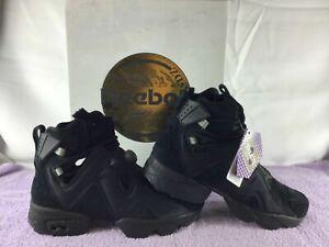 Reebok Instapump Furikaze Future Boots - Black - BS7420 - Unisex Size 7.5 - NWB