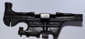 1885 Saw Set Device For Fitting Crosscut Saws - William Dessureau - Otsego, Mich