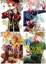 THE ROYAL TUTOR Series MANGA by Higasa Akai Collection Set of Books 1-4
