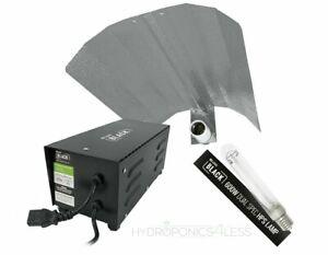 SALE Lumii 600w Ballast Grow Light Kit Hydroponics Black 600w Bulb HPS Dual Spec