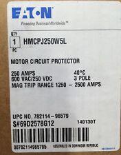 HMCPJ250W5L Cutler Hammer Motor Circuit Protector