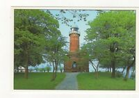 Kiel Holtenau Schleswig Holstein Germany Lighthouse Postcard 408a ^