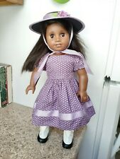 American girl beforever Addy Purple Dress Outfit