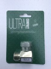 Ultra Compact Oil Tank Valve, Plated Steel Elbow Fitting OFV 1 AFV-1000 469293