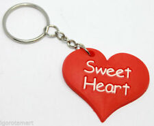 Love & Hearts Collectable Keyrings with Key Wallets