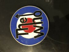 THE WHO Music Logo BELT BUCKLE Metal Pewter Roger Daltrey Pete Townsend