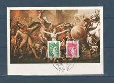 carte 1er jour  Liberté 1,20 vert et 1,40 rouge 75 Paris  1980