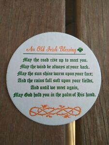 An Old Irish Blessing Coasters x 100