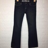 Express Stella Wash Ultra Low Bootcut Jeans Womens Size 6 X 32