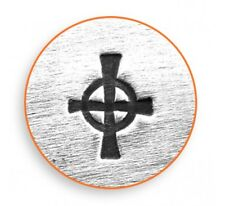 ImpressArt Celtic Cross Design Stamp For Hand Stamped Jewelry  Hand Stamping