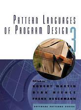 NEW Pattern Languages of Program Design 3 (v. 3) by Robert C. Martin