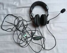 Gaming Headset Headphones Turtle Beach Ear Force X12 for Xbox 360 and PC
