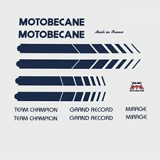 Motobecane Bicycle Frame Stickers - Decals - Transfers n.502