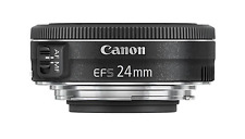 Canon EF-S 24MM F2.8 STM GRANDANGOLO girare LENS