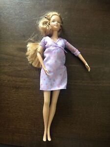 Mattel Happy Family Pregnant Midge Barbie 2002 ~ No Baby No Bump