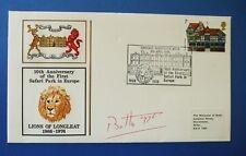 1976 decimo anniversario del 1 ° SAFARI PARK Copertina firmata dall' marquess of Bath