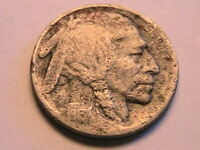 1913-D T2 Buffalo Nickel (VG) Full Date Ruff Crusty Original Indian Head 5C Coin