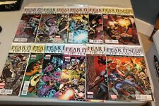 Complete set Fear Itself The Fearless 1-12 NM Valkyrie 2012 Avengers Crossbones