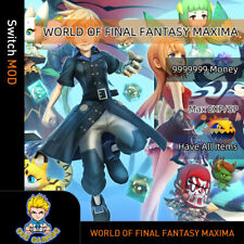 World of Final Fantasy Maxima (Switch Mod)- Max Money/EXP/SP/Have All Items