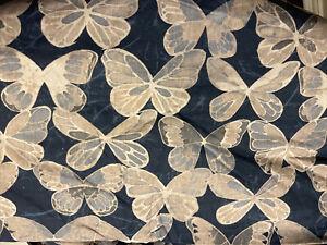 Pottery Barn POD Butterfly Print Duvet - Full/Queen F/Q - NEW - Blue - RARE