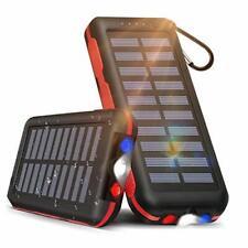 Solar Power Bank Portable Phone Charger 25000mAh