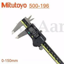 Mitutoyo 150mm Stainless Steel Electronic Digital LCD Vernier Caliper Micrometer