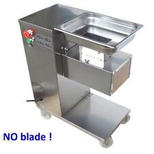 110V Commercial Meat Slicer Body Stainless Pork Shred Cutter No Blade
