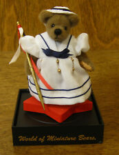 World of Miniature Bears #694 POLLY, by Marie Fuertes, NEW From Retail Store
