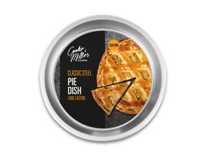 22 cm Classic Round Steel Pie Oven Baking Dish Tart Tin Quiche Pan Flan