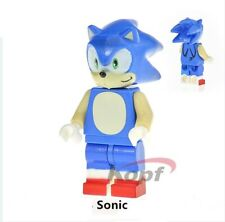 Sonic LEGo MOC Minifigure Hot Movie 2020 The Hedgehog Hero Marvel Star Wars