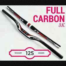 Mountain bike handlebar Flat / Rise 3K FULL CARBON bicycle handlebars MTB XRIDE