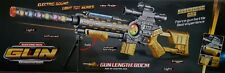 LARGE SUBMACHINE GUN MSR MODULAR SNIPER RIFLE MILITARY VIBRATION ASSAULT TOY